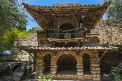 Public gardens in Taormina, Sicily Stock Photography