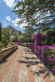 Public gardens in Taormina, Sicily Stock Photography
