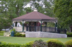 A Public Gazebo And Stage Royalty Free Stock Image