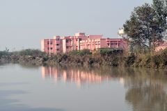 Public health center building in India stock photos