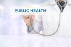 PUBLIC HEALTH CONCEPT Stock Image