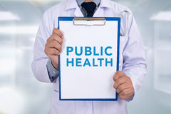 PUBLIC HEALTH CONCEPT Royalty Free Stock Photography