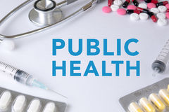 PUBLIC HEALTH CONCEPT Royalty Free Stock Photo