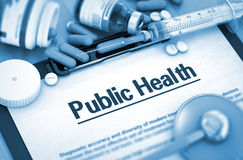 Public Health. Medical Concept. Stock Images