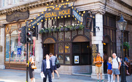 Public house, Covent Garden market, London. Royalty Free Stock Images