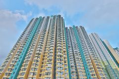 A Public house in Hong Kong at On Tai Estate. Public house in Hong Kong at On Tai Estate royalty free stock photography