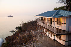 Public house at Lake Malawi. Stock Images