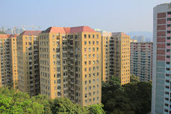 Public house at  Shun Lee Estate Royalty Free Stock Image