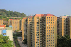 Public house at  Shun Lee Estate Stock Images
