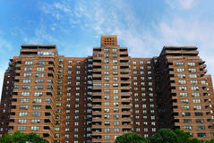 Public Housing. In New York City Royalty Free Stock Images