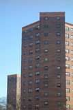 Public Housing. In downtown Manhattan Royalty Free Stock Images