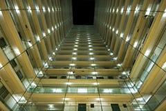 Public housing apartment block Stock Image