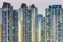 Public Housing Apartment in Hong Kong Royalty Free Stock Images