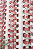 Public housing apartments Stock Image