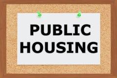 Public Housing concept Stock Photo