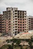 Public Housing Constructions. Made in the suburbs of a city Stock Photos
