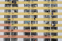 Public housing estate Royalty Free Stock Images