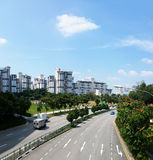 Public Housing Estate in Jurong East, Singapore royalty free stock images