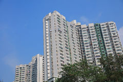 Public housing estates in Hong Kong Royalty Free Stock Photography