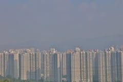 Public housing estates in Hong Kong Royalty Free Stock Photos