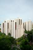 Public Housing (HDB) Singapore. This image shows a public housing complex (HDB) in Singapore Royalty Free Stock Photo