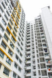 Public Housing. High rise apartment building of public housing Royalty Free Stock Photography