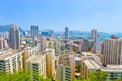 Public housing in Hong Kong Royalty Free Stock Image