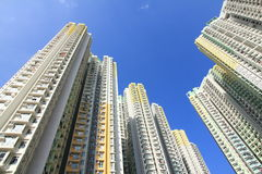 Public Housing in Hong Kong Royalty Free Stock Images