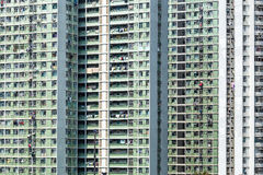 Public housing in Hong Kong Royalty Free Stock Image