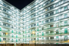 Public housing in Hong Kong Stock Image