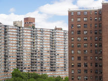 Public housing in New York City, United States. Tenement houses in New York City, United States Stock Photo