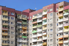 Public housing in Poland Royalty Free Stock Images
