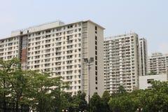 Public housing in Shatin, Hong Kong Royalty Free Stock Images