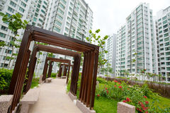 Public housing in Singapore Stock Image