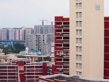 Public Housing in Singapore Stock Images