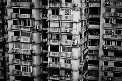 Public housing, Singapour Stock Images