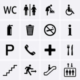 Public Icons Stock Images