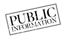 Public Information rubber stamp Royalty Free Stock Photography