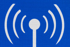 Public Internet Hotspot Sign Detail Stock Images