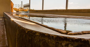 Public Laundry Pool in Spain Royalty Free Stock Images