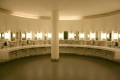 Public lavatory Royalty Free Stock Images