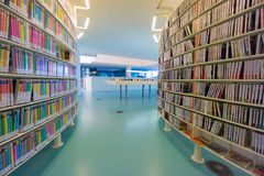 Public library of Amsterdam Royalty Free Stock Images