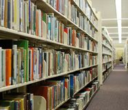 Public Library Stock Image