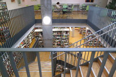 Public Library in Baden-Baden Stock Image