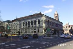 Public library in Boston Stock Photo