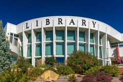 Public Library Building Royalty Free Stock Photos
