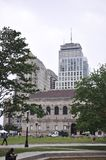 Boston Ma,30th June: Public Library Building in Copley Square from Boston in Massachusettes State of USA Stock Photo