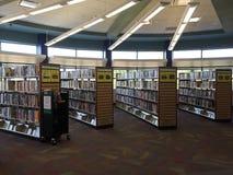Public library interior Stock Photo
