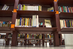 Public library Mario de Andrade Royalty Free Stock Photos