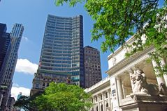 Public Library of New York City Stock Images